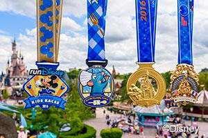 Disneyland Paris Half Marathon Medals