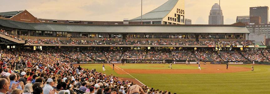Louisville Bats Baseball Game