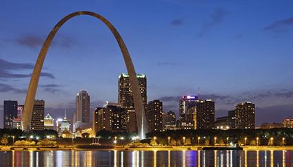 St Louis Cityscape