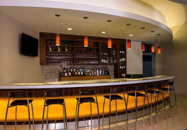SpringHill Lobby bar