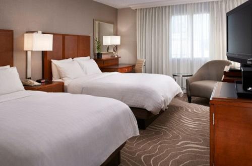 airport marriott double double room