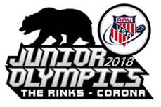 2018 AAU Inline Hockey Jr Olympics Logo